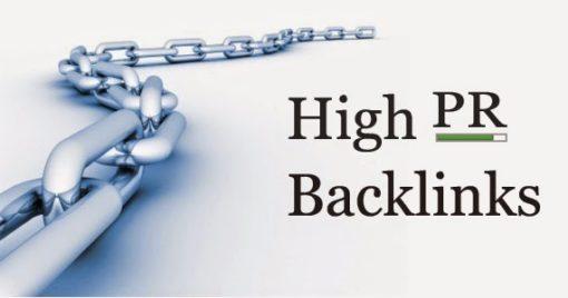 High PR Backlinks - Advanced